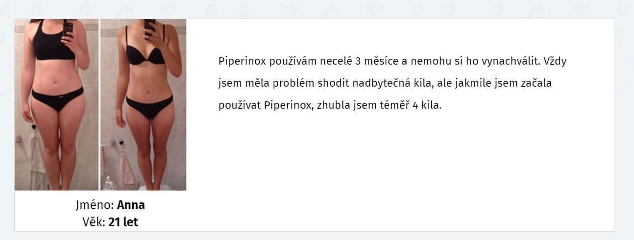 Piperinox názory
