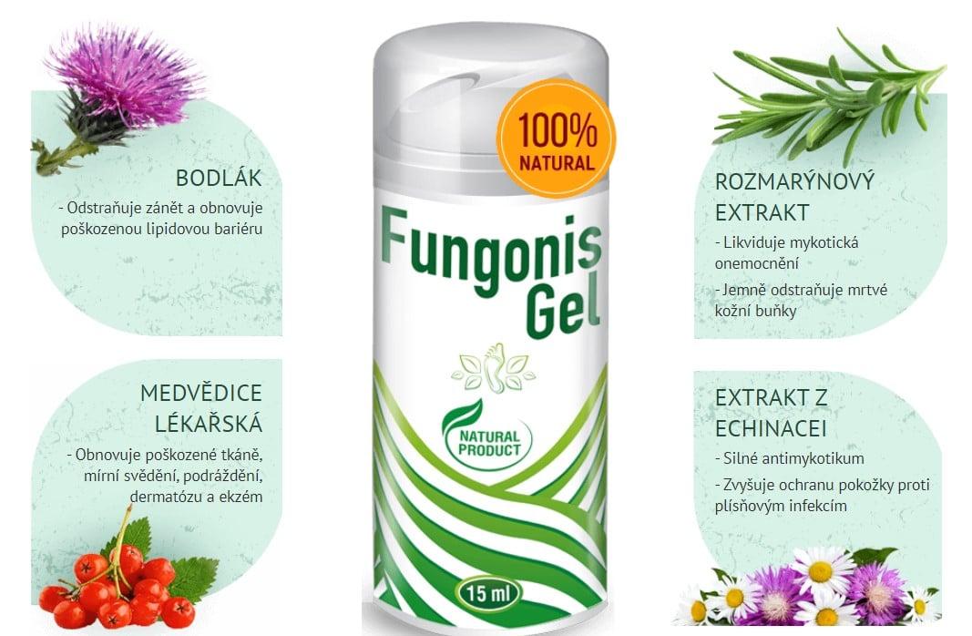 Fungonis Gel složení