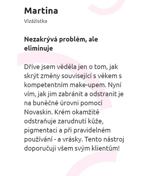 Novaskin recenze
