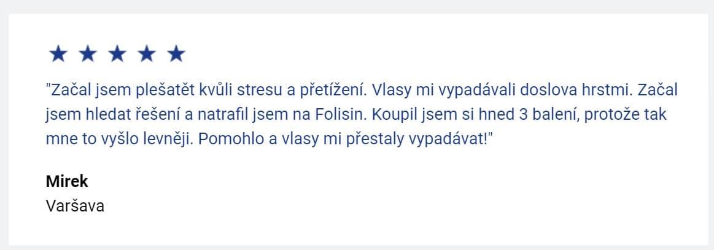 Folisin recenze