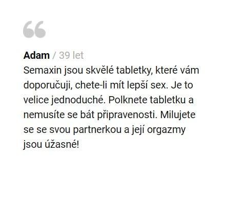 Semaxin recenze