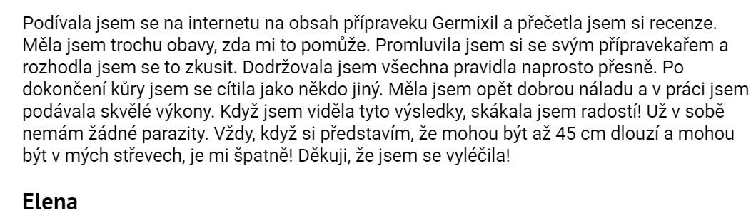 recenze Germixil