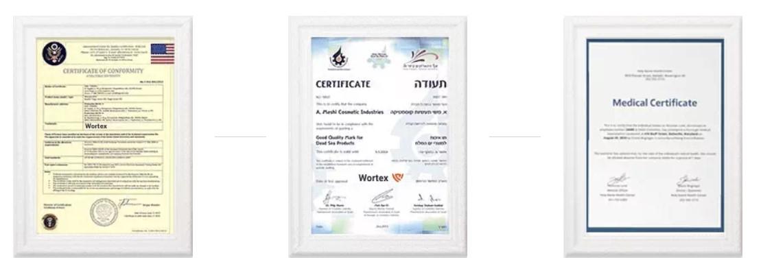 Certifikáty Wortex