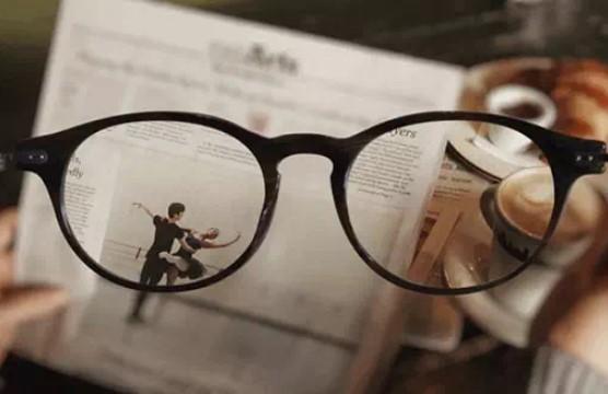 Při krátkozrakostí a dalekozrakostí