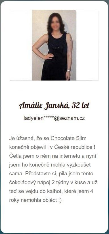 Chocolate Slim recenze