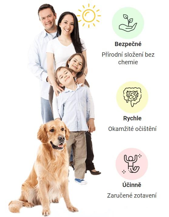 Germitox zbavit se červů celé rodiny